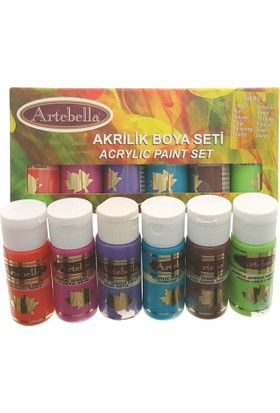 Artebella Akrilik Boya Seti-2 6X30Cc