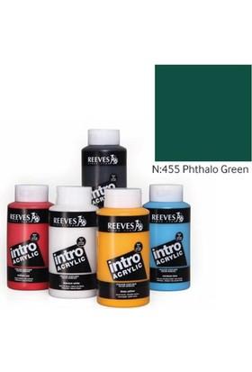 Reeves Intro Akrilik Boya 500Ml - N:455 Phthalo Green