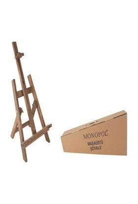 Monopol Masaüstü Şövale Kutulu