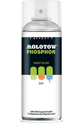 Molotow Fosforlu Sprey Boya 400Ml - Orange (Karanlıkta Parlar)