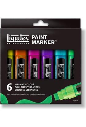 Liquitex Marker Set, Canlı Renkler 6X15Mm