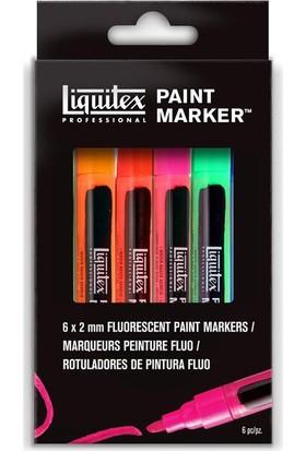 Liquitex Floresan Marker Set 6X2Mm