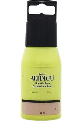 Artdeco Boyutlu Boya 60Ml - N:661 Fosforlu Sarı