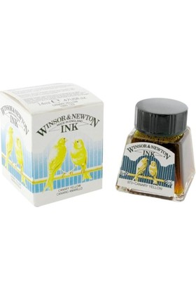 Winsor & Newton Çini Mürekkebi 14Ml - Canary Yellow