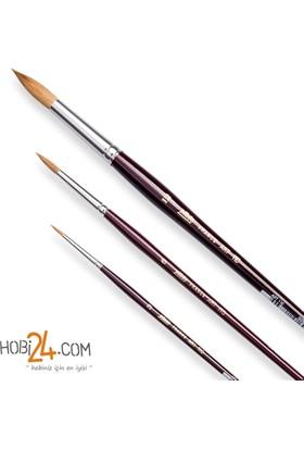 Pebeo 110 Serisi Yuvarlak Uçlu Samur Fırçalar - N:11
