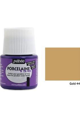 Pebeo Porcelaine 150 Porselen Boyası 45Ml - Gold 44