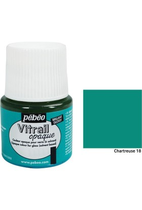 Pebeo Vitrail Cam Boyası 45Ml - 18 Chartreuse