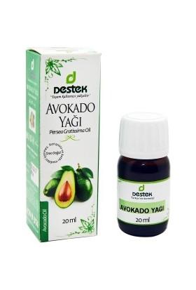 Destek Avokado Yağı (Soğuk Pres) 20cc
