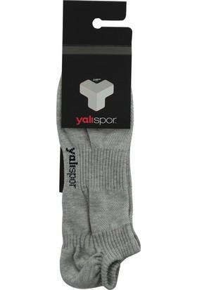 Yalı Spor YSÇK001-GRİ Soket Çorap Unisex Çorap