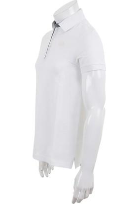 The North Face Beyaz Erkek Tişörtü T0Cev4Tad M Premium Polo Piquet