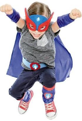 Imaginarium Mavi Süper Kahraman Kostümü - Atrezzo Superhero Blue