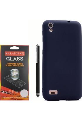 Gpack Vestel Venüs V3 5040 Kılıf Premier Silikon Case +Kalem +Cam