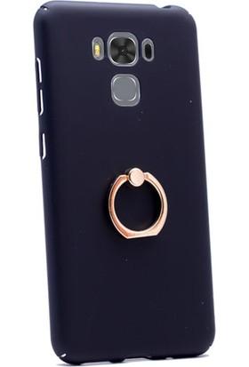 Gpack Asus Zenfone Zoom Zc553kl Kılıf Yüzüklü Stand Rubber Case