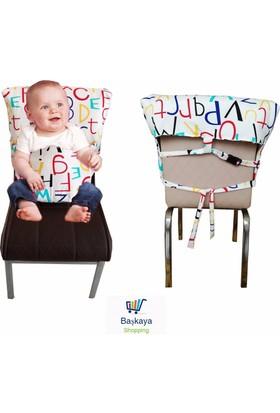 Baskaya Bebek ,Çocuk Sandalye Güvenliği Kumaş Emliyet Kemeri