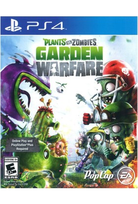 Plants vs Zombies Garden Warfare 1 Ps4 Playstation 4 Oyun