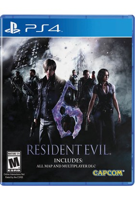 Resident Evil 6 Ps4 Playstation 4 Oyun
