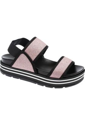 Shalin Szr 150 Pudra Sim Kadın Sandalet