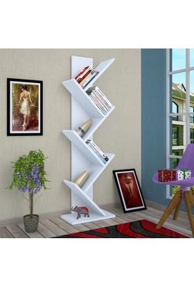 Tree Kitaplık Beyaz