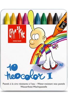 Caran Dache Neocolor I Metal Kutulu Pastel Boya 7000-610