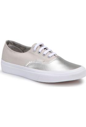 Vans Ua Authentic Decon Gümüş Kadın Sneaker Ayakkabı