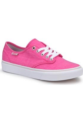 Vans Wm Camden Stripe Pembe Beyaz Kadın Sneaker Ayakkabı