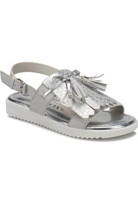 Seventeen 312953 Gümüş Kız Çocuk Sandalet