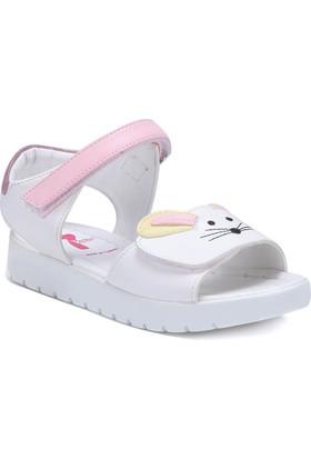 Seventeen SVP120 Beyaz Kız Çocuk Sandalet