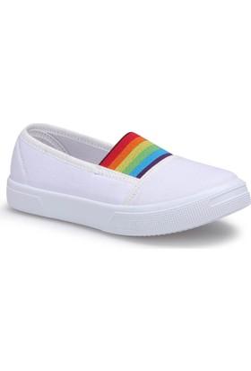 Polaris 71.509219.F Beyaz Kız Çocuk Ayakkabı