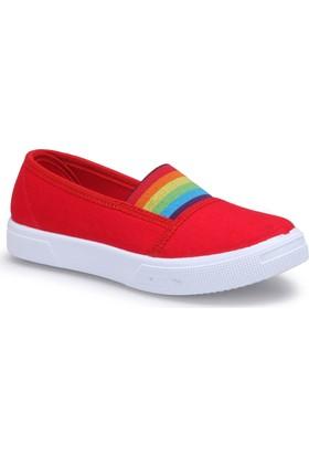 Polaris 71.509219.F Kırmızı Kız Çocuk Ayakkabı