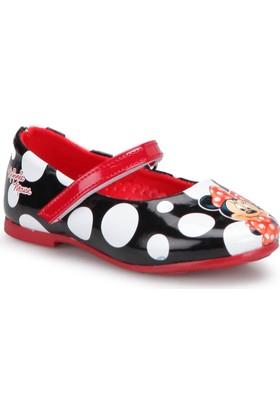 Mickey Mouse 90605T Siyah Kız Çocuk Babet