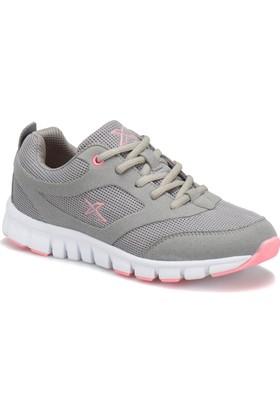 Kinetix Almera W Gri Açık Pembe Beyaz Kadın Fitness Ayakkabısı
