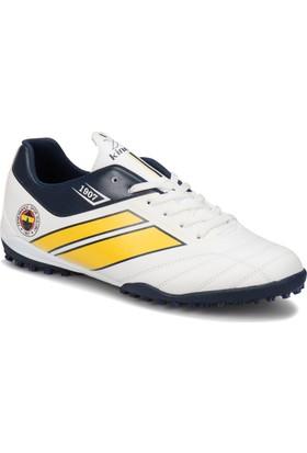 Kinetix Trim Turf Fb Beyaz Lacivert Erkek Halı Saha Ayakkabısı