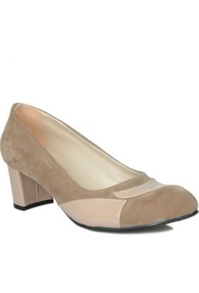 Loggalin 375005 031 324 Kadın Bej Ayakkabı