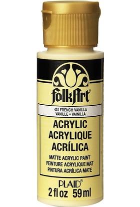 Plaid Folkart Akrilik Boya 59 Ml - 431 French Vanilla