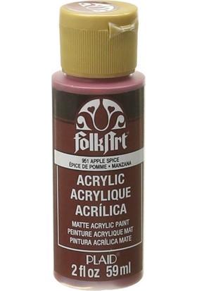 Plaid Folkart Akrilik Boya 59 Ml - 951 Apple Spice