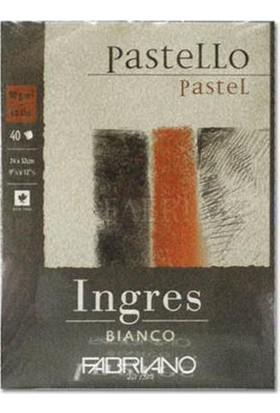Fabriano Ingres Beyaz Pastel Blok, 90Gr - 24X32Cm