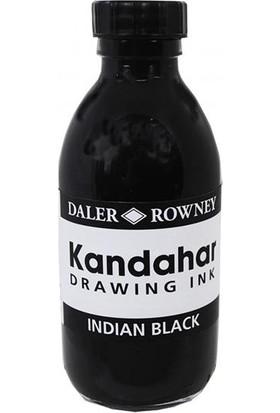 Daler Rowney Black Kandahar Mürekkep 175Ml