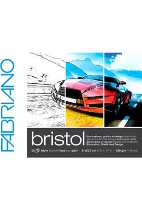 Fabriano Bristol Defter - 250Gr. - 20Yp. - A4