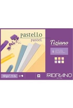 Fabriano Tiziano Soft Pastel Renkli Blok, 160Gr, 29,7X42Cm