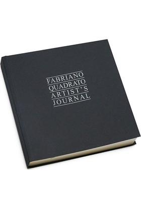 Fabriano Quadrato Artist'S Journal, Siyah Kapaklı, 90Gr - 16X16Cm