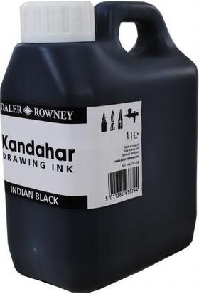 Daler Rowney Black Kandahar Mürekkep 1Lt