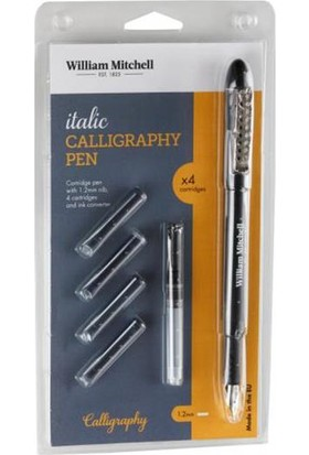 William Mitchell Italic Calligraphy Pen 1.2Mm