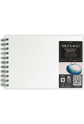 Fabriano Ecological Drawing Book, Beyaz Kapaklı, Natural Dokulu, 120Gr, 21X29,7Cm