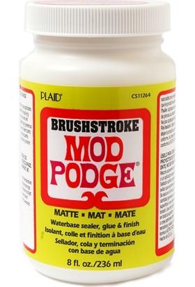 Plaid Mod Podge Mat Brushstroke 236Ml