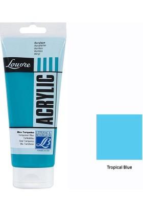 Lefranc & Bourgeois Louvre Akrilik 200 Ml - Tropical Blue