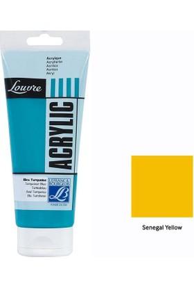 Lefranc & Bourgeois Louvre Akrilik 200 Ml - Senegal Yellow