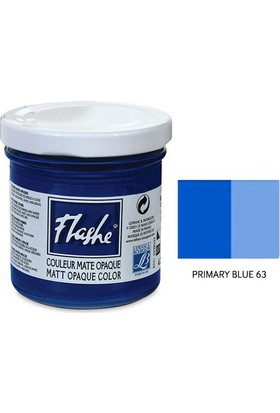 Flashe Matt Akrilik Boya 125Ml - N:63 Primary Blue
