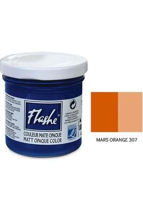 Flashe Matt Akrilik Boya 125Ml - N:307 Mars Orange