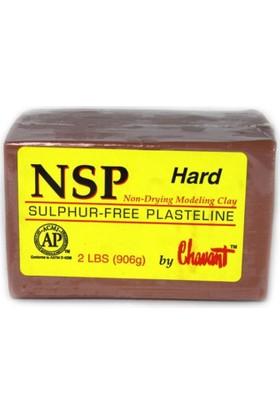 Chavant Nsp Hard Plastilin Model Hamuru - Kahverengi