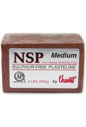 Chavant Nsp Medium Plastilin Model Hamuru - Kahverengi